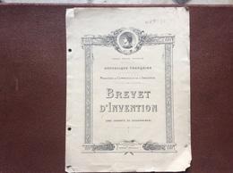 BREVET D' INVENTION  Recipient Pour La Conservation Et Le Debit De Produits Alimentaires (Café Torréfié)  ANNEE 1934 - Maschinen