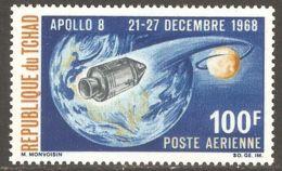 Chad 1969 Mi# 222 ** MNH - Apollo 8 / Space - Chad (1960-...)