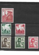 541- Allemagne III REICH - LOT DE 6 TIMBRES III REICH Neuf * - Unused Stamps