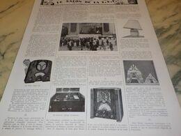 ANCIENNE PUBLICITE  LE SALON DE LA TSF 1934 - Radio & TSF