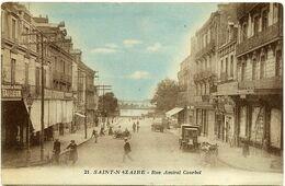 SAINT-NAZAIRE (44) – Rue Amiral Courbet.  Edition Dubois, St-Nazaire, N° 21. - Saint Nazaire