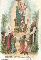 04/09/F/    DEVOTIERPRENTJE  O.L.VROUW: MISSIE PATERS TRAPPISTEN IN CONGO - Religion & Esotericism