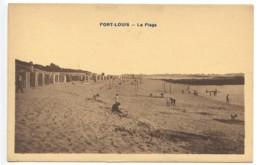 Port Louis, La Plage, France, Postcard, CPA, Unused - Ohne Zuordnung