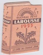 CALENDRIER  1953 _ Larousse 6 Pages - Petit Format : 1941-60
