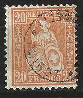 VV-/-661.- YVERT - N° 37a, Cote 2.50 € ,  TB - IMAGE DU VERSO SUR DEMANDE - Used Stamps