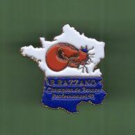 BOXE *** B.RAZZANO CHAMPION DE FRANCE PROFESSIONNEL 92 *** 1060 (5-5) - Pugilato