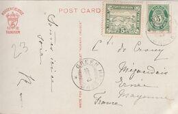 NORVEGE SPITSBERGEN 1913 ( LOCAL STAMP  RARE ) Timbre Poste  Local Ours 5  SPITZBERGEN NORGE + CPA Baleine NORWAY - Norwegen