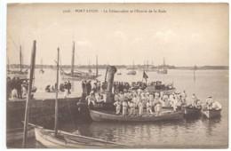 Port Louis, La Débarcadère Et L'Entrée De La Rade, France, Postcard, CPA, Unused - Ohne Zuordnung