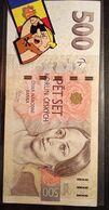 BILLETE BANK NOTE REP.CZECH CHECA 500 CORONAS 1993 - Romania