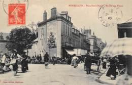 MONTLUCON - Place Denis Papin - Marché Aux Fleurs - Très Bon état - Montlucon
