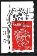 France 2020.La Roche Sur-Yon.cachet Rond Gomme D'Origine - Used Stamps
