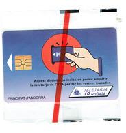 TELECARTE ANDORRE NEUVE PUBLICITE AVEC BLISTER X 10 Tc - Andorra
