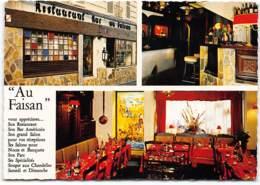 VERRIERES LE BUISSON RESTAURANT AU FAISAN. D91   7 Rue PARON - Verrieres Le Buisson