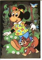 Illustration Walt Disney - Lot De 2 CPM - Voir Détails Dans La Description - Autres