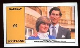 GAIRSAY - Vignette 2L. Princesse DIANA  Royal Wedding - Neuf Sans Charnière - Local Issues