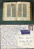 Postkarte - Deustchland - Gutenberg-Museum - Mainz/Rhein - Die Gutenberg Bibel - 1973 - Circulee - A1RR2 - Mainz
