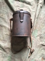 Boîtier Masque à Gaz Allemand Ww2 Militaria - 1939-45
