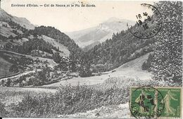 1916 - Environs D'Evian - Col De Neuva Et Le Pic De Borée - Evian-les-Bains