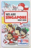 Singapore Cash Card Transport Unused Cashcard - Metro
