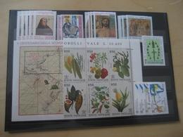 Vatikan Jahrgang 1992 Komplett Postfrisch (10490) - Full Years
