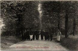 Cormeilles 1915 - Une Marche Militaire N°25 - Photo Petit - Cormeilles En Parisis