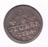 1/4  STUBER 1784 PM   GULICH AND BERG  DUITSLAND/7107 / - [ 1] …-1871 : Stati Tedeschi
