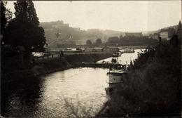 Photo CPA Koblenz Am Rhein, Blick Zum Denkmal, Rheinpartie - Altri