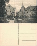 Friedrichroda Schloss Reinhardsbrunn Park Anlagen Mit Denkmal 1910 - Friedrichroda