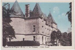 79. MAUZE-SUR-LE-MIGNON. Le Château. Côté Ouest - Mauze Sur Le Mignon