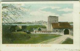 MANTOVA - LUNETTA DI SAN GIORGIO E PANORAMA - SPEDITA 1900s (BG5527) - Mantova