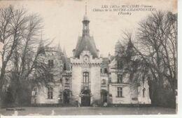 LES  TROIS  MOUTIERS ( 86 )  CHÂTEAU  DE  LA  MOTHE-CHAMDE,IERS  - CPA  ( 20 / 9 / 113 ) - Otros Municipios