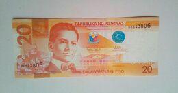 2016 H  Diokno Tetengko 20 Peso - Filippine