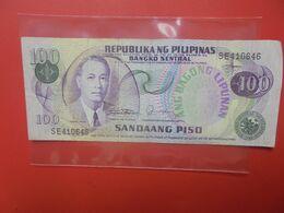 PHILIPPINES 100 PISO Circuler - Filippine