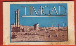 Vae084 TIMGAD Algérie Carnet Complet Du N° 1 Au N° 20 Ruines Romaines Edition Musée 1920s - Altre Città