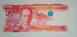 2018 Duterte Espenilla 50 Pesos - Filippine