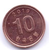 S KOREA 2019: 10 Won, KM 103 - Korea, South