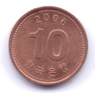 S KOREA 2006: 10 Won, KM 103 - Korea, South