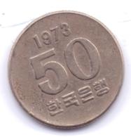 S KOREA 1973: 50 Won, KM 20 - Korea, South