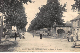 St-LEGER-SOUS-BRIENNE : Route De Brienne - Tres Bon Etat - Autres Communes