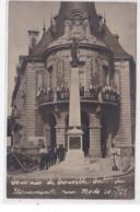 TROUVILLE : Carte Photo De L'inauguration Du Monument Aux Morts En 1922 - Tres Bon Etat - Trouville