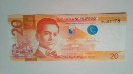 2019  Duterte Diokno 20 Pesos - Filippine