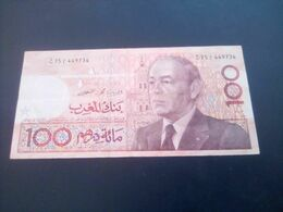 MOROCCO . 1987. Morocco 100 DIRHAM 1987 Good Case - Marruecos