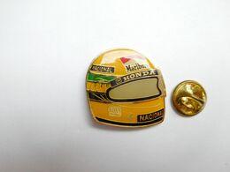 Beau Pin's , Auto F1 , Formule 1 , Casque , Honda , Tabac Marlboro , Ayrton Senna - F1
