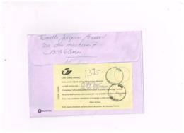 Lettre De Glimes à Vezin.Affranchissement Insuffisant. - 1985-.. Vögel (Buzin)