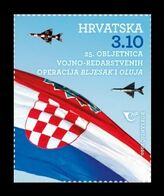 Croatia 2020 Mih. 1480 Military And Police Operations Lightning And Storm MNH ** - Croatie