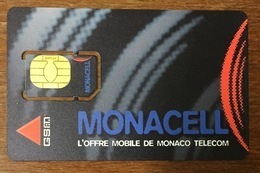 MONACO MONACELL CARTE SIM NEUVE PHONE CARD CARTELA TÉLÉCARTE - Mónaco