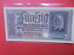 Reichskreditkassen 50 MARK 1940-1945 Circuler (B.14) - 1933-1945: Drittes Reich