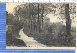 X02168 COUCY-LE-CHATEAU 02-Aisne Vue Prise Du Chemin De Ronde 1910s / NEURDEIN 27 - Autres Communes