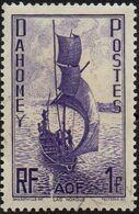 Dahomey Obl. N° 132 - Lac  Nokoue 1f Violet - Usados