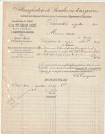 08 Ardennes Lot 10 De Factures De Villages Ect.... - 1900 – 1949